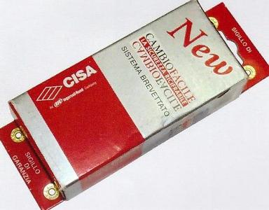 ключи CISA NEW CAMBIO FACILE 06.520-51-1