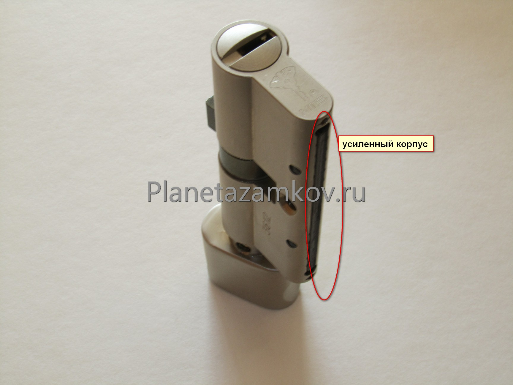 Усиленный цилиндр Mul-t-lock MT5 защита от перелома